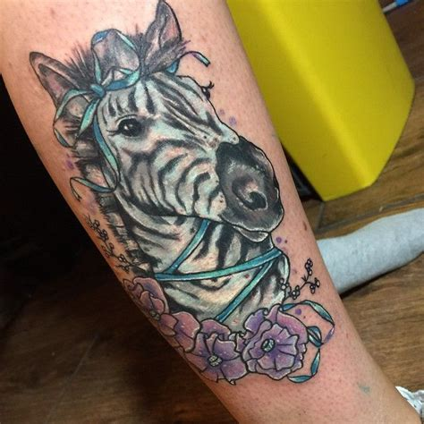 zebras tattoo pretty zebra by clare lala tattoo inkspiration