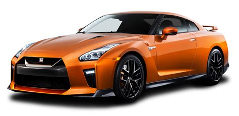 nissan car orange nissan gtr car png image pngpix
