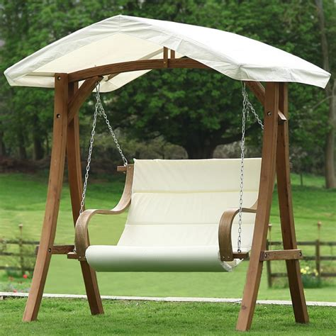 double bench swing stylish modern wooden swing pergola design with double