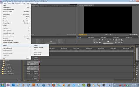 export adobe premiere pro cs4 the computer and website making guru how to export your