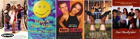 teen movies of the 90s list 90 s top fives 90s films fanpop