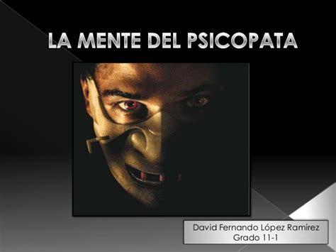 la mente del fotografo 8857601056 diapositivas la mente del psicopata