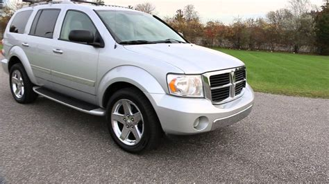 jeep durango 2008 2008 dodge durango limited for sale hemi leather moon
