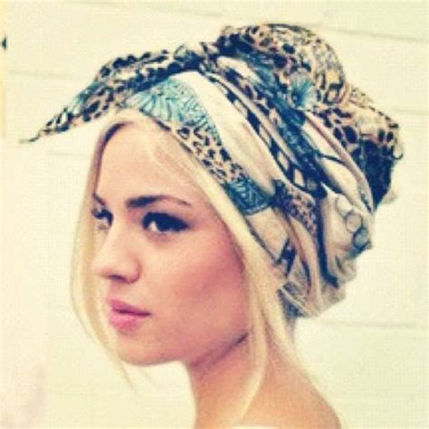 www hadtowrapshorthair boho head wrap really want to try this styling inspo