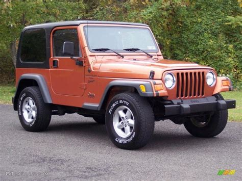 2001 pearl jeep wrangler sport 4x4 38412980 gtcarlot car color galleries