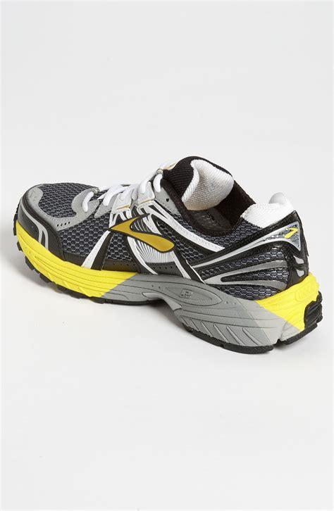 running shoes gts adrenaline gts 12 running shoe in yellow for