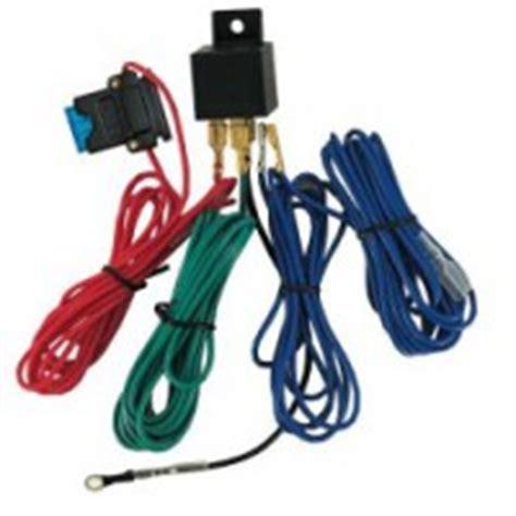 Lu Led Motor Custom kit de branchement avec relais et fusible pour phares