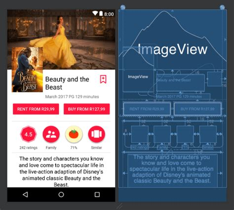android layout resize event constraintlayout guidelines barriers chains and groups