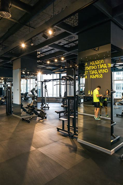 Salle De Fitness Design by Palestra Fitness Club Project On Behance Fitness