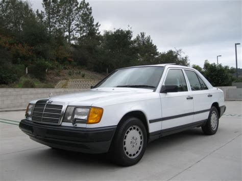 Mercedes Ca by 1986 Mercedes 300e W124 Ca Mercedes Only 53k 1 Owner