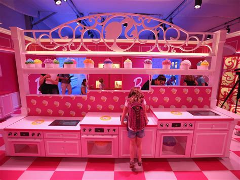 barbie dream house barbie s giant pink and purple dream house is berlin s most visible new tourist