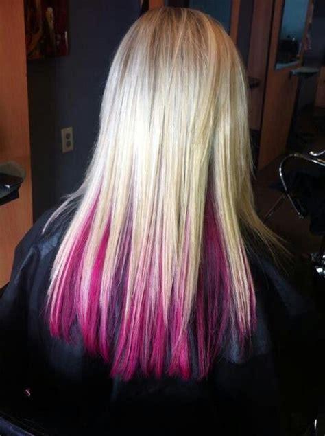 what is an underlayer hair cut awesome bottom hair dyed fun hair pinterest hair dye
