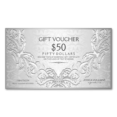 make your own business gift cards 1462 best images about voucher card templates on