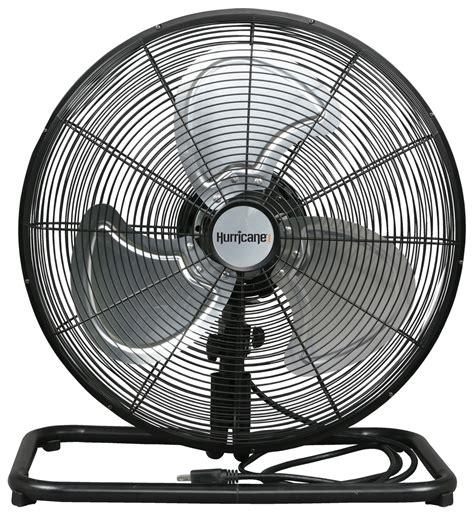 hurricane pro high velocity metal floor fan 18 in