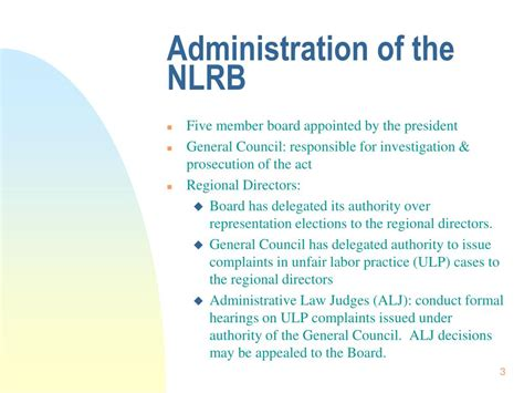 section 7 of the nlra ppt the national labor relations act powerpoint