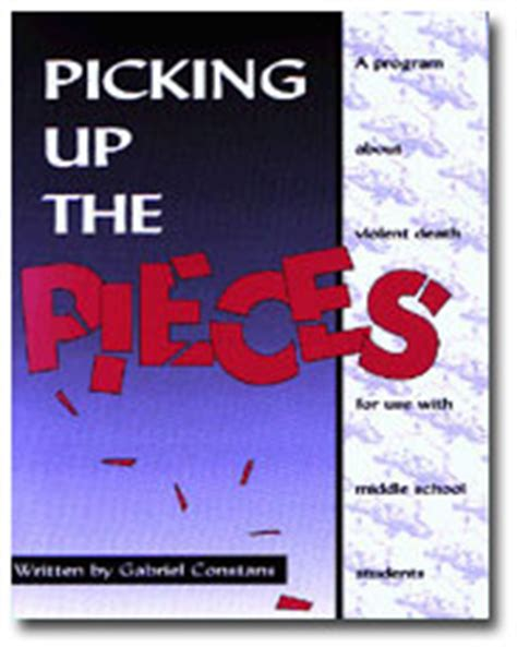 picking up the pieces books books by gabriel constans grief loss chocolate
