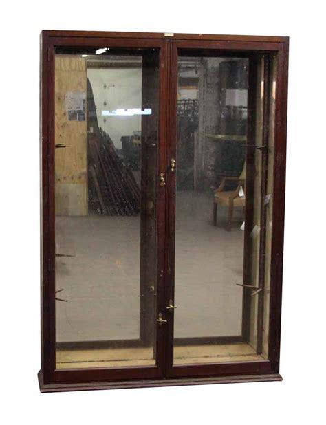 Door Store Furniture by Mahogany Door Showcase Cabinet Olde Things