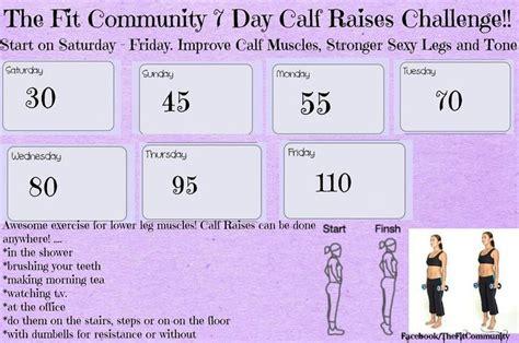 calf challenge 7 day calf raise challenge workout calf