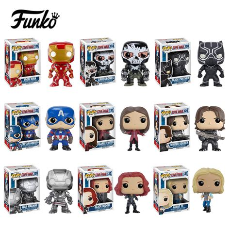 Funko Iron Civil War aliexpress buy funko pop captain america 3 civil war civil war winter soldier iron