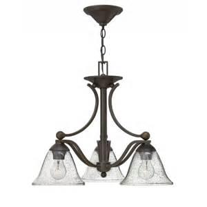 downlight chandelier hinkley 4653ob cl bolla 3 light downlight chandelier in