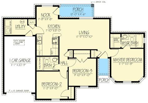 brick ranch house plan 68011hr 1st floor master suite brick ranch home 61034ks 1st floor master suite cad