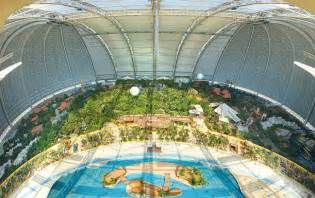tropical island schwimmbad the world s largest indoor in the german countryside