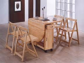 Dining Table With Chairs Inside Rustic Wooden Folding Dining Furniture Sets For Outdoor Area Part Of Furniture Excellent