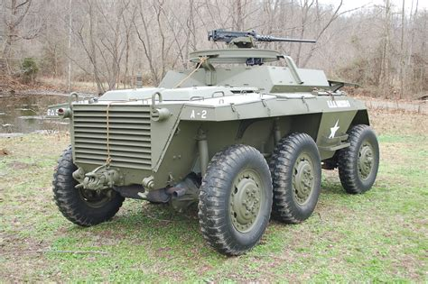 ww2 military vehicles for sale original 1943 ford m20 armored command car wwii