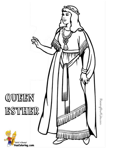 coloring pages esther queen bible glorious jesus coloring bible coloring free printable