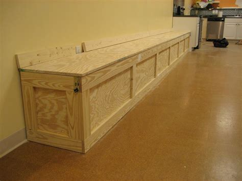 storage bench design extra long six foot wooden storage bench with doors design