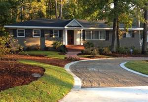 exterior landscaping great exterior landscape ideas for ranch style homes