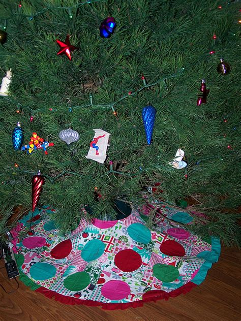 christmas tree skirt sew sweetness