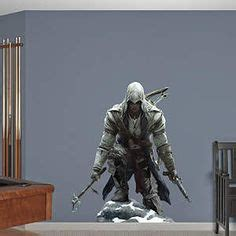 Bedroom Assassin Connor Sprinting Assassin S Creed Iii Fathead Wall Decal