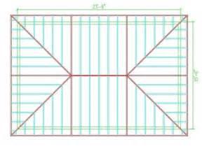 Hip Rafter Calculator Hip Roof Calculator Roof Framing Hip Roof Design