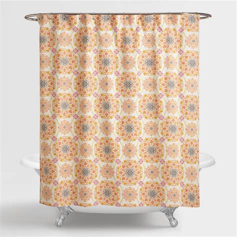 curtain world medallion julianna shower curtain world market