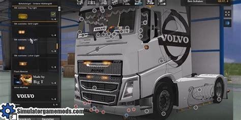 volvo danish show truck tuning pack  simulator games mods