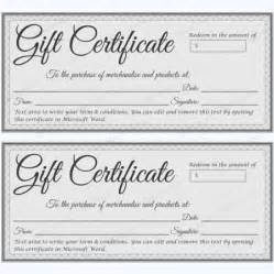 gift certificate log template doc microsoft word gift certificate template free