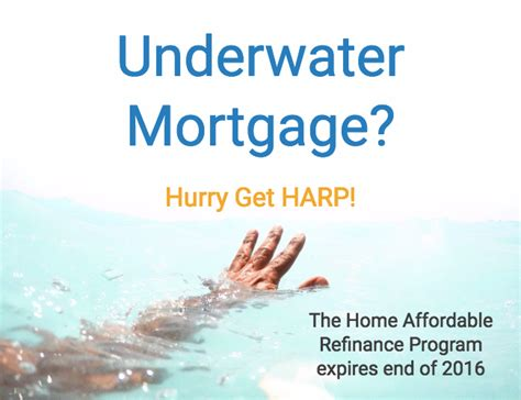 underwater mortgage refinance soon harp expires end of