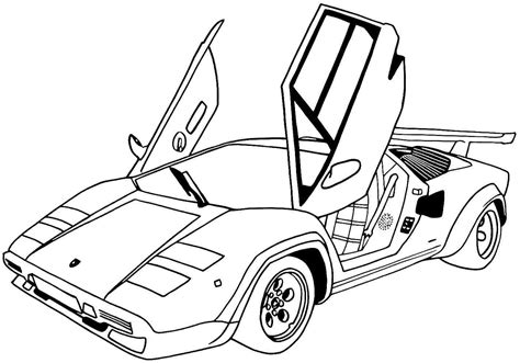 coloring pages of sports cars sports car coloring pages