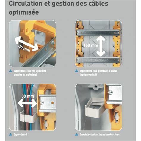 coffret electrique 855 coffret 233 lectrique 233 tanche 3x18 modules 3 rang 233 es