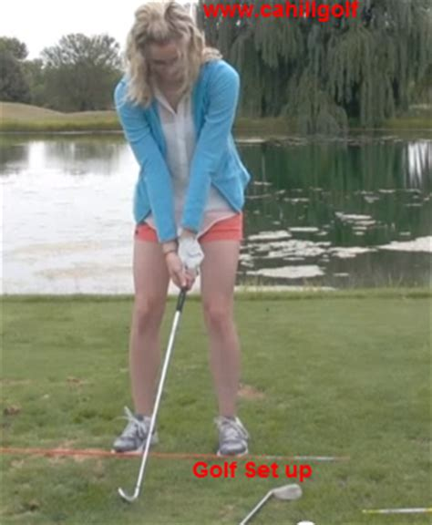 golf swing set up golf set up and swing cahill golf instruction