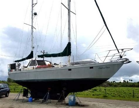 used boat for sale mauritius bruce roberts mauritius 43 1984 used boat for sale in alva