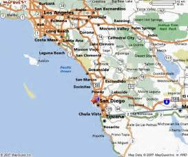california coast cities map map of southern california freetemplate