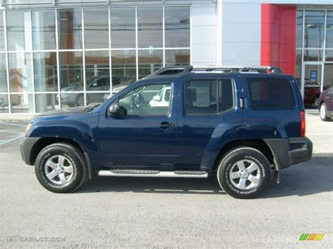 2010 navy blue metallic nissan xterra s 4x4 45395775 photo 2 gtcarlot car color galleries