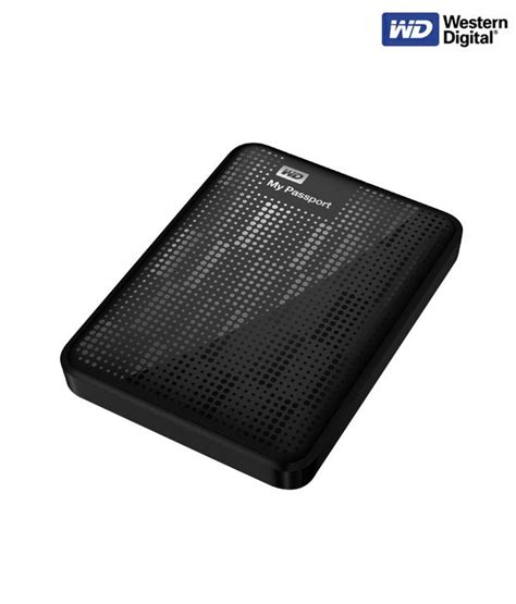 Hardisk Wd Passport 1 wd my passport 500 gb disk black buy rs