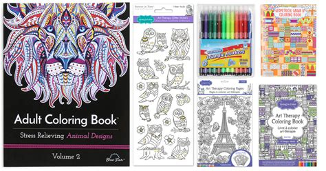 coloring books for adults walgreens coloring books stickers and markers only 2 5