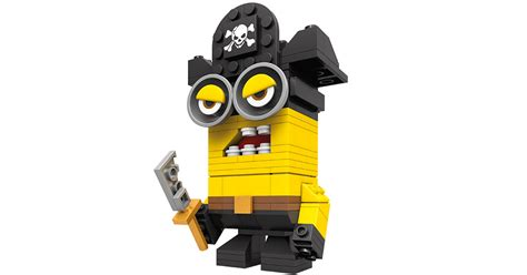 Minions Bajak Laut Pirate Original Merchandise kubros pirate minion mega construx