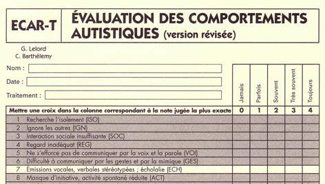 Grille D évaluation Autisme pour la recherche n 176 57