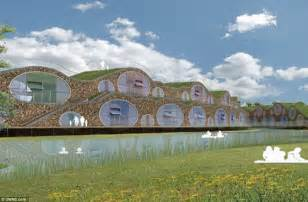 Earth Sheltered Home Plans west sussex cement works to be transformed into hobbit