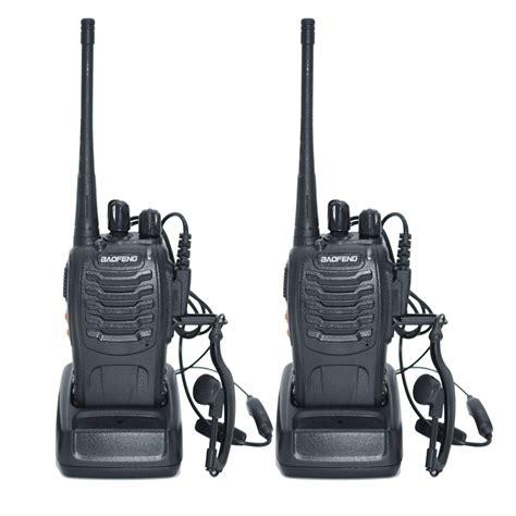 2pcs walkie talkie radio baofeng bf 888s 5w portable ham